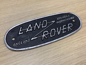 Land Rover Series 2A / 3 Badge (original)
