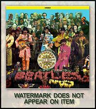 THE BEATLES SGT. PEPPER ALBUM COVER #1