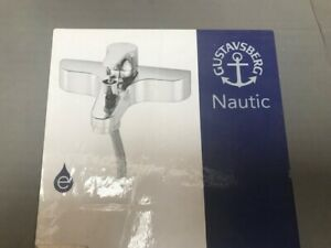 Gustavsberg Nautic Wall Mounted Bath Shower Mixer GB41224023 Chrome