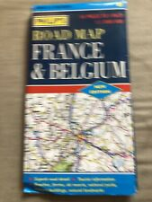 Philip's Road Map of France and Belgium by Stanford Maritime Ltd (Sheet map,...