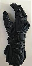 Motorcycle Cowhide Leather Racing Motorbike Gloves
