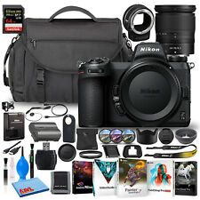 Nikon Z 7II Mirrorless Digital Camera 45.7MP with 24-70mm Lens + SD/FTZ Bundle