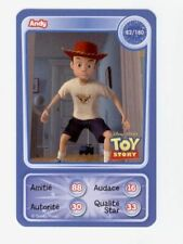 CARTE COLLECTOR DISNEY PIXAR AUCHAN 2010 NUMERO 82 ANDY TOY STORY 3