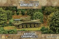 CROMWELL WITH TESLA CANNON  - KONFLIKT '47 - WARLORD GAMES - SENT FIRST CLASS
