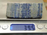 LAPIS LAZULI 39,5 g - pierre brute - mineraux lithotherapie collection reiki