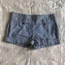Foreign Exchange Women's Shorts Size Medium Black/White