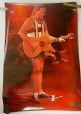 RARE WILLIE NELSON 1980'S VINTAGE ORIGINAL COUNTRY POSTER