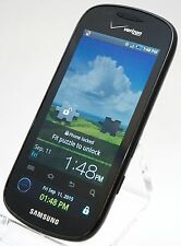Samsung SCH-I400 Continuum Verizon Black Touchscreen Smart Cell Phone Android 3G