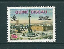 GUINEA BISSAU 1986 A-389 CENTENARIO CRISTOBALCOLON , MONUMENTO BARCELONA 92