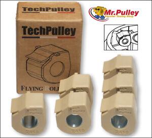 Tech Pulley Variorolle Gleitrolle 20x12/6er Set -direkt vom Importeur!