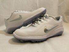 Nike React Va 00004000 por 2 Women's Golf Shoes White/Metallic (Bv1139-100) Size 9