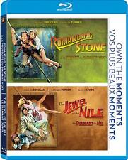 Romancing the Stone/Jewel of the Nile (Blu-ray Disc, 2012, Canadian)