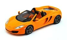 McLaren MP4-12C Spider 2013 Orange 1:43 Model TRUE SCALE MINIATURES