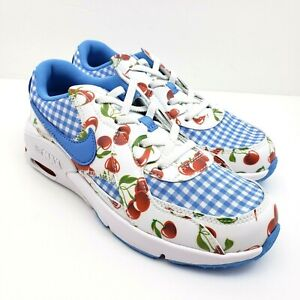 Nike Air Max Excee Kids Size 3Y Wns 4.5 Picnic Cherries Cherry Slip On  Shoes
