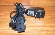 Genuine LG (TA-P02WS) Solid Black Wired Cell Phone AC Adapter 100-240VAC 0.2A