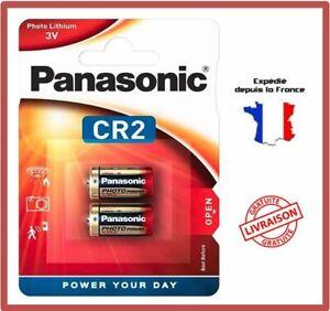 Pile CR2L/2BP / DLCR2 / CR17355 Panassonic Photo Lithium 3V Blister EXP 2029