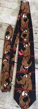Vintage Mens Cartoon Network Scooby Doo Novelty Tie Wide Polyester 1998