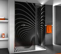 bad dusche aufkleber glasdekorfolie duschkabine gd29. Black Bedroom Furniture Sets. Home Design Ideas