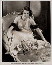 "Orig 1934 KITTY CARLISLE Boudoir Beauty.. DBW Portrait ""MURDER AT THE VANITIES"""