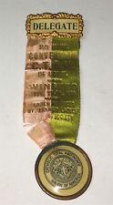 Rare American Temperance C.T.A.U. of A Religious Connecticut Pinback Medal! 1904