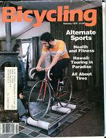 Bicycling Magazine February 1979 Alternate Sports VG 061316jhe
