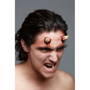 Evil Devil horns Small  goat  Ghoulish Prosthetic  Halloween make-up