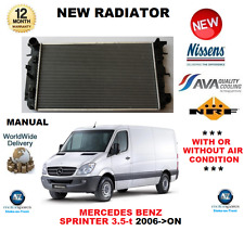 FOR MERCEDES BENZ SPRINTER 3.5-T VAN 2006->ON RADIATOR BRAND NEW OE QUALITY