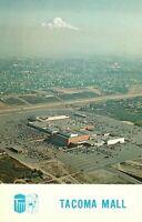 Vintage Postcard Tacoma Mall Tacoma WA Washington Mt. Rainier in Background