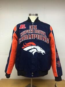 Denver Broncos 3-Time Super Bowl Championship Jacket !!SIZE 6XL!!