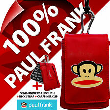 Genuine Paul Frank Red Universal Mobile Phone Pouch - PFPURE01