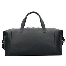 Jost Kopenhagen Weekender Travel Bag Leather 52 cm (Black)