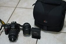 Nikon D D3200 with Kit Lens and 50-200mm Lens (and extras) GREAT CONDITION!
