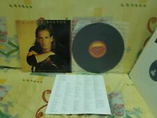 "a941981 Michael Bolton Time Love & Tenderness 12"" LP"