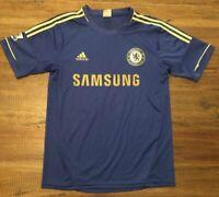 Chelsea Samsung Blue With Gold Lettering Barclays Premier League Sz S/M