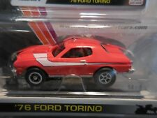 AUTO WORLD ~ '76 Ford Torino Smoke Windows ~ SOLD OUT Everywhere ~ Fits AFX, AW