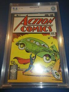 Action Comics #1 1988 Reprint 1st Superman CBCS 9.6 NM+ Beauty Wow JP