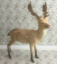 Lovely Beswick Light Brown Standing Stag Deer Porcelain Figurine USC RD8398