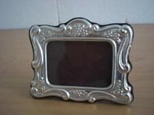 WEDDING GIFT Handmade Sterling Silver Photo Picture Frame *84/4x6GB new