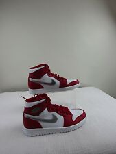 Pre-owned Air Jordan 1 High 'Silver Medal' Mens Shoes Size 8
