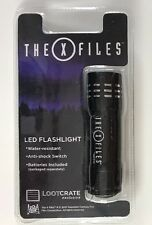 X-Files LED Mini Flashlight Loot Crate Exclusive NEW
