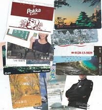 JAPAN..EXCELLENT LOT OF 100 PHONECARDS.