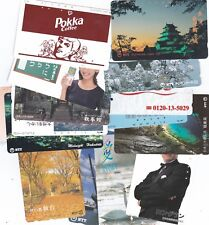 JAPAN..EXCELLENT LOT OF 100 PHONECARDS.INCLUDES DISNEY CARDS ETC,,,