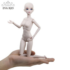 """F09 Naked Nude 1/6 SD Doll 28cm 11"""" jointed dolls Toy BJD dolls + Basic Makeup"""