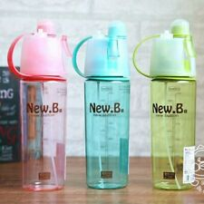 Sports Plastic Tea Cup Sport Spray Bottles Water Bottle Outdoor Shaker Drinkware