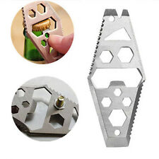 Key Chain Mini Hex Wrench EDC Multifunction Outdoor Survival  Pry Bar