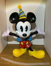 Walt Disney Mickey Mouse 90th Anniversary Birthday Sipper Souvenir Bottle