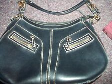 black leather purse cute sturdy bag lightly used save money by combining shippin
