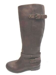 Arturo Chiang Size 6 Brown Leather Boots New Womens Shoes