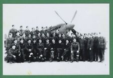 Jan Preihs DECEASED WWII Polish Fighter Pilot 318 Sq. Signed 4x6 Photo E19009
