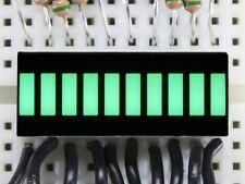 Adafruit 10 Segment Light Bar Graph LED Display - Pure Green [ADA1814]